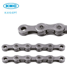 Original X10-EPT KMC 10 Speed Chain for Trekking 116 Links Anti Rust EcoProTeQ Coated Extremely Durable 10S Chain + Magic Link(China)
