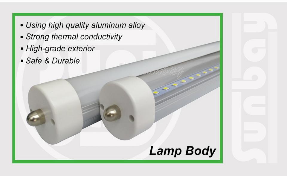 4S-T8-FA8-Lamp Body