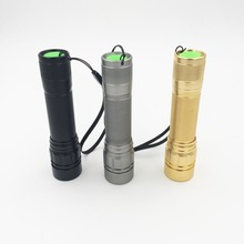 Mini Flashlight 2000LM LED Torch 18650 LED flash light ZOOM 5W Waterproof 3 Modes LED mini Torch battery Lamp With Lanyard