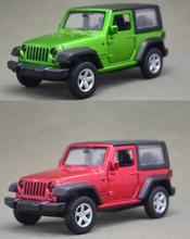 Candice guo 1:42 alloy car model off-road jeep vehicle pull back plastic motor children toy birthday gift Christmas present 1pc
