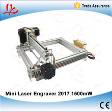 1500mW Large Area Mini Laser Engraver Engraving Machine Laser Cutting Printer Marking Machine Working Size 20*17CM