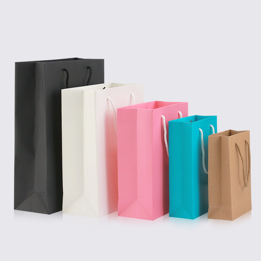 Paper bags with handle [ 100 Piece Lot ] 6