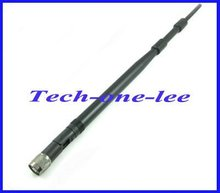 10pcs/lot 2.4Ghz 9dbi 2400--2500MHz WIFI antenna with RP TNC plug Female pin Connector High Quality