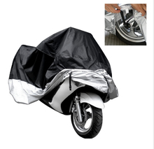 Hot UV/Dust Protector Motorcycle Cover Waterproof Outdoor Bike Rain Dustproof Cover Scooter Motocross Bike Racing Covering(China)