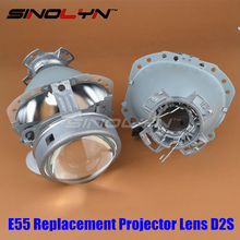 Gen2 E55 3.0 Bi-Xenon HID D2S Projector Lens Replacement For Audi A6 C5 A6L S6/Benz W209 W219 W251 W212 R171 ML320 X164/BMW E65