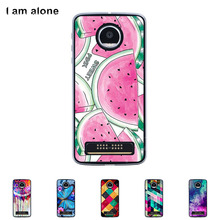 "For Motorola Moto Z Play Diy Case 5.5""Hard Plastic Case Mobile Phone Cover Bag Cellphone Housing Shell Skin Mask Color Paint(China)"