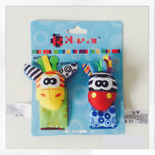 Baby Rattle Baby Toy Soft Plush Animal Toy Giraffe Socks Mobility Teethers Decoration Tenture Renda Toy On The Bed Small 705149