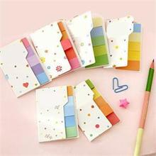Cute Sticky Notes Bookmark Rainbow colored Scrapbooking Memo Sticker Paper Students Supplies Toys Classic kids Sticker Toys
