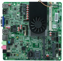 Thin motherboard 1037U All In One induatrial embedded Motherboard for Thin Station Cloud Terminal with 8*USB