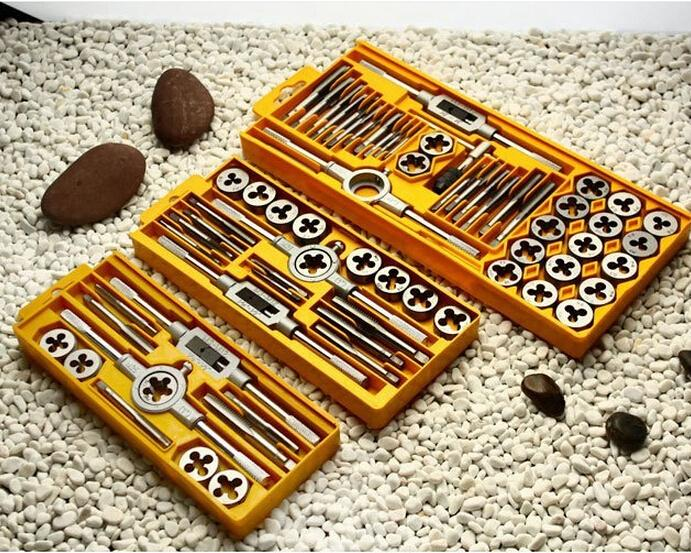 Top Quality Metric Taps Wire Cutting Die Tapping Set High-carbon Steel  Vehicle Maintenance Lathe Accessories 12PCS/Set<br><br>Aliexpress
