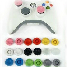 500pcs Silicone Thumbstick Joystick Button Grip Case Cap For PS2 PS3 PS4 Xbox 360 One Game Controller Colorfulack