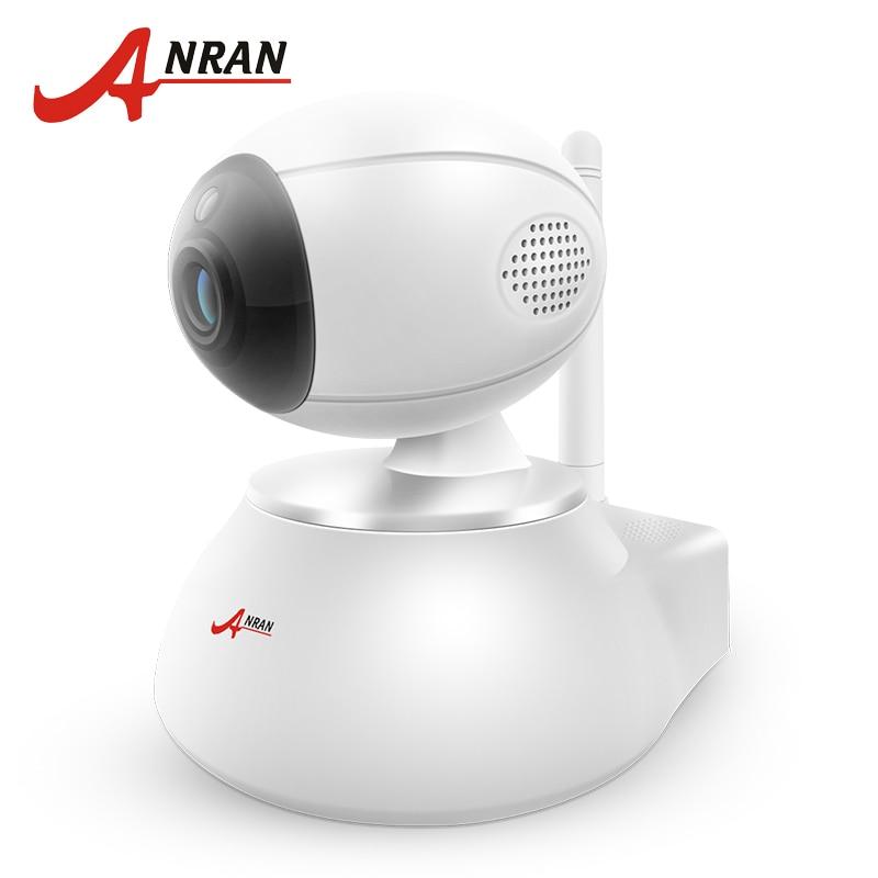 ANRAN Wireless IP Camera Wifi 720P HD CCTV Camera Two-Way Audio Video Surveillance Support 64GB SD Card Security Camera<br>