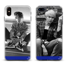 Buy Super Junior kpop band Coque Fashion Phone Case Apple iPhone X 8Plus 8 7Plus 7 6sPlus 6s 6Plus 6 5 5S SE Cover Shell for $2.88 in AliExpress store