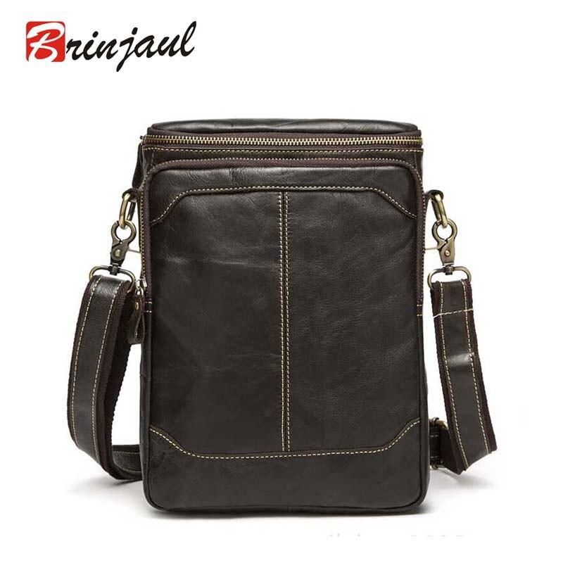 High Quality 100% GENUINE LEATHER Real cowhide Shoulder mens bag business messenger briefcase Handbag Tote Laptop Purse XP411<br><br>Aliexpress