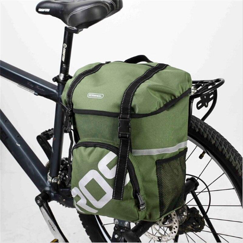ROSWHEEL Bike Bags 15L MTB Mountain Bike Rack Bag Multifunction Road Bicycle Pannier Rear Seat Trunk Bag 14891<br><br>Aliexpress