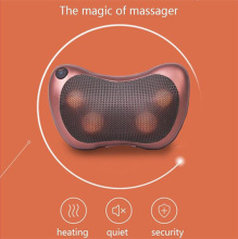 Electric Massage Pillow Cervical Infrared Heating Kneading Lumbar Leg Neck Shoulder Body Shiatsu Massager Home Car Dual-use