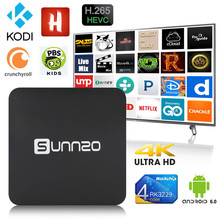 Android TV Box 1+8 GB RK3229 4K Wifi Fully installed Kodi Set top box Streaming tv player Support For Netflix,1Channel,Hulu ect