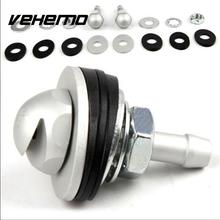 Vehemo 2 Pcs Car Auto Spray Eyes Fan-Shaped Injection Vehicle Windshield Spray Nozzle On Front Hood Bonnet Wiper Washer