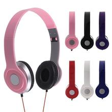 2016 Fashion Headphone Earphone Headset Over-Ear For iPhone iPod MP3 MP4 PC Table Free shipping