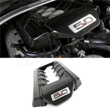 For Ford Mustang GT Carbon Fiber Engine Cover 5.0 Only 2014 - UP