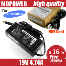 MDPOWER For SUMSUNG R528 R530 R538 R540 Notebook laptop power supply power AC adapter charger cord 19V 4.74A