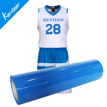 Q6 Kenteer PVC heat transfer vinyl for t-shirt 0.5*25m one roll