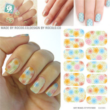 Art nails accessories Own Nail Design minx nail sticker styling tools water transfer Nail Sticker Manicure Decal Decorations