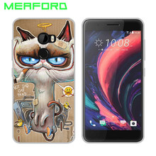 MEAFORD Phone Case For HTC One X10 E66 Case 5.0 inch Cool Design Cartoon Soft Silicone TPU Back Cover For HTC One X10 Phone Case(China)