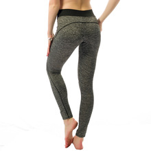 New Arrival Womens Sexy Yoga Pants High Performance Fabric Medium Waist Yoga Leggings Gym Fitness Bottom Push up Butt trousers