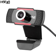 HXSJ 1 Mega Pixels 720P USB Webcam HD Web Camera Web Cam With Built-in Microphone for Computer Laptop Camcorder