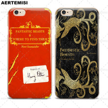 Phone Cases Fantastic Beasts and Where to Find Them Clear TPU Case Cover for Apple iPhone 5 5s SE 6 6s 7 Plus(China)