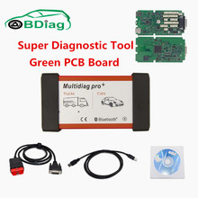 Super Quality Single PCB Board Multidiag Pro With Software 2015.01.R1 Do More Car/Truck Same As TCS CDP Pro MVDiag OBD2 Tool