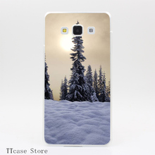 4088CA Winter Sun Transparent Hard Cover font b Case b font for Galaxy A3 A5 A7