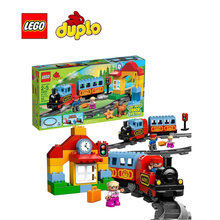LEGO Duplo My First Train Set Architecture Building Blocks Model Kit Plate Educational Toys For Children LEGC10507