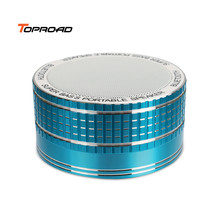 Toproad Bluetooth Speaker Wireless Portable Music MP3 Mini Speaker Sound Box Subwoofer Support TF Card U-Disk Mic for phone PC(China)