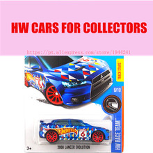 2016 Hot Wheels 1:64 2008 lancer Evolution Car Models Metal Diecast Cars Collection Kids Toys Vehicle For Children Juguetes(China)