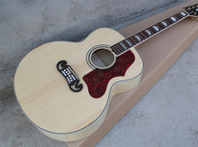 "43""Acoustic Guitar with Gold Hardwares,Red Tortoise Shell Pickguard,Maple Veneer,Offer Customized"