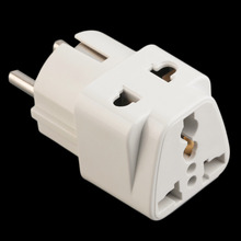 EU Standard Power Plug Adapter Travel Converter Australia UK USA EU Converter