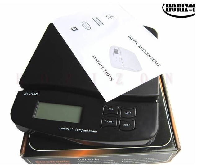 Digital 25kg x 1g 55lb Parcel Letter Postal Postage Weighing LCD Electronic Scales<br>