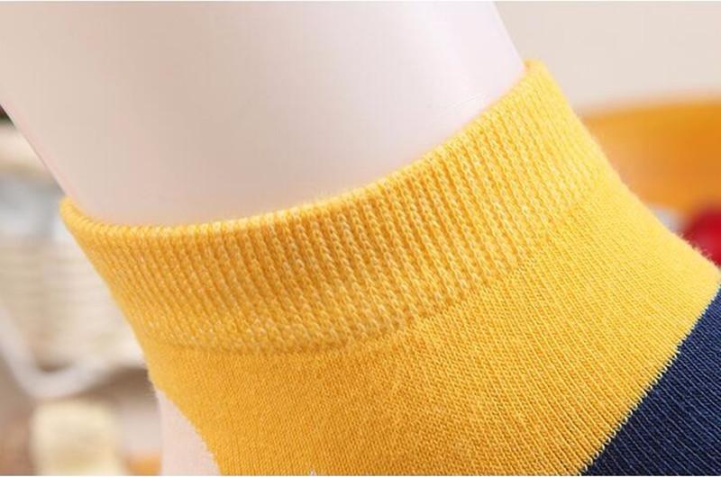 MYORED Spring summer fashion women's short tube socks cartoon cotton socks Cute lovely sailor moon female ankle sock 6pair/Lot 9