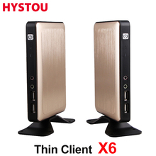 New Arrival ARM A9 Eight-core 1.2Ghz Thin Client X6 With RDP 8.0 All winner A9 dual-core 1.5 Ghz X5 Mini PC Zero Client Linux