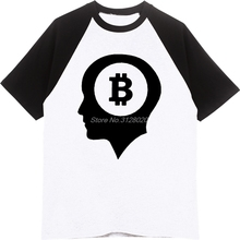 Buy Summer Brand Clothing New Bitcoin Brain Print T Shirts Men Fashion Raglan Sleeve Cotton T Shirt Unisex Funny Tees Tops for $13.90 in AliExpress store