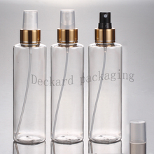 30pcs/lot 200ml Cosmetic Lotion Plastic PET Bottle round Pet Perfume Bottle Manufacturers 200ml Plastic Breath Spray Bottle