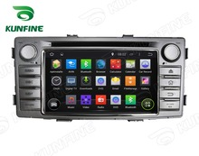 6.2 Inch Quad Core 4.4 Car DVD GPS Navigation Player for Hilux  2012  Radio Bluetooth 3G Wifi Steering Wheel Control Remote