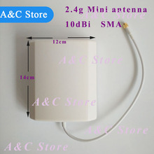 2.4g wifi antenna mini panel directional antenna water proof outdoor antenna SMA male connector customized factory high quality