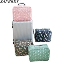 SAFEBET Brand Fashion Portable Large Capacity Waterproof Women Travel Bags Mens Bags Hand Luggage Bag Organizer Trolley Bags(China)