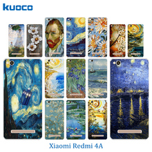 Buy 5.0 inch Xiaomi Redmi 4A 4 Case Van Gogh Pattern Cover Soft TPU Fundas Coque Shell Bags Hongmi 4A Phone Cases for $1.25 in AliExpress store