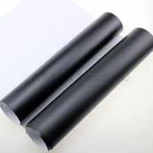 152CMX30CM Matte Black Vinyl Car Wrap Car Motorcycle Scooter DIY Styling Adhesive Film Sheet With Air Bubble Stickers(China)