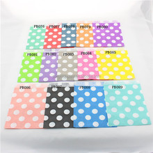 Free Shipping 500pcs Colorful Paper Favor Bag Polka dot Gift Packing bags