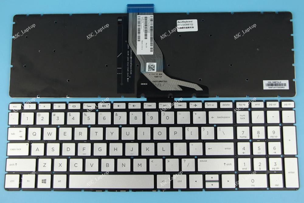 New HP 15-BS076NR 15-BS077NR 15-BS078CL 15-BS078NR 15-BS080WM Keyboard US Black